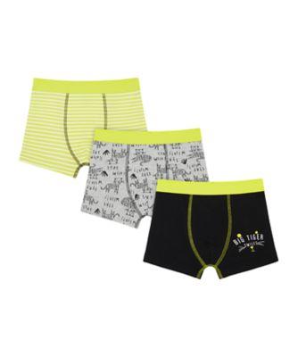 Mothercare Boys Big Tiger Shorts - 3 Pack