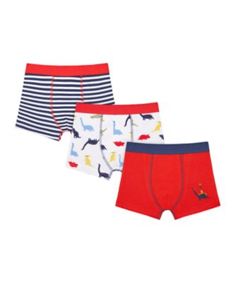 Mothercare Boys Roar Shorts - 3 Pack