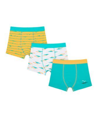 Mothercare Boys Crocodile Shorts - 3 Pack