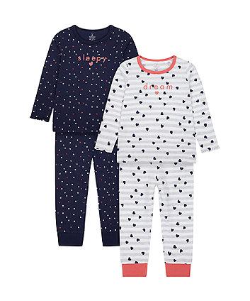 Mothercare Dream Pyjamas - 2 Pack