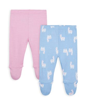 Mothercare Girls Little Llama Legging - 2 Pack