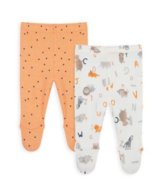 Mothercare Boys Animal Alphabet Legging - 2 Pack