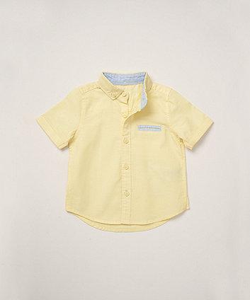 Mothercare Yellow Oxford Shirt
