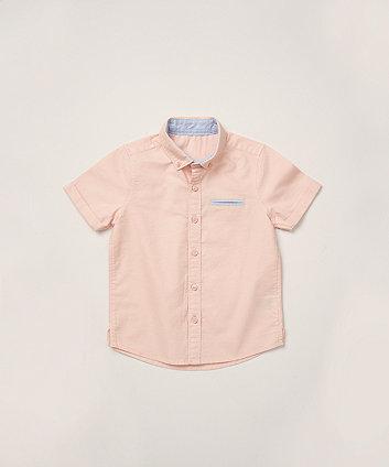 Mothercare Pink Oxford Shirt