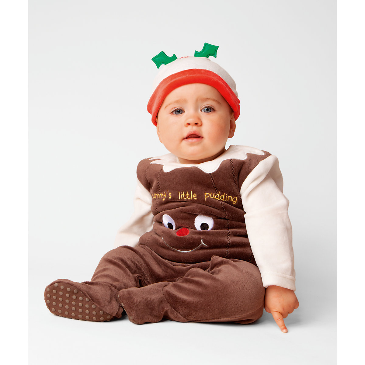 Mothercare Christmas Pudding Dress Up All In One - Christmas Gifts