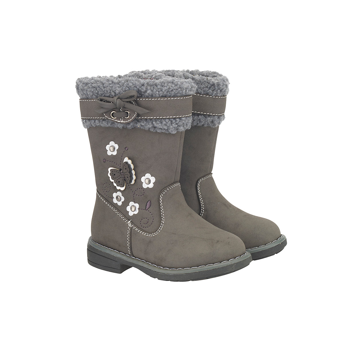 Mothercare Grey Butterfly Boots - Butterfly Gifts