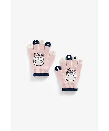 Mothercare Cat Magic Counting Gloves