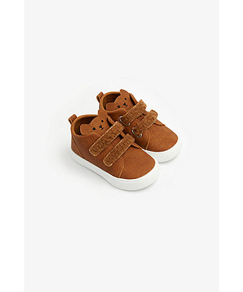 Mothercare First Walker Novelty Bear Trainers