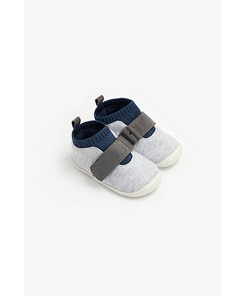 Mothercare Colour Block Crawler Trainers