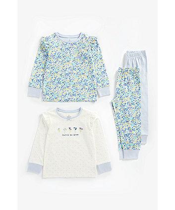 Mothercare Watch Me Grow Pyjamas - 2 Pack