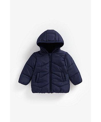 Mothercare Navy Fleece-Lined Jacket