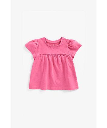 Mothercare Dark-Pink T-Shirt