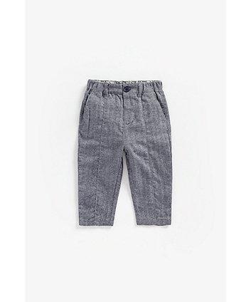 Mothercare Herringbone Trousers