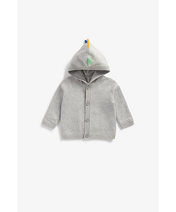 Mothercare Novelty Dino Knitted Cardigan