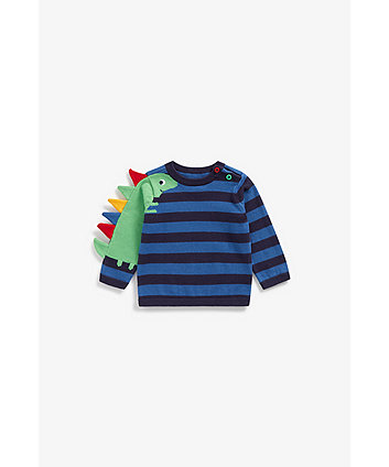 Mothercare Novelty Dino Knitted Jumper