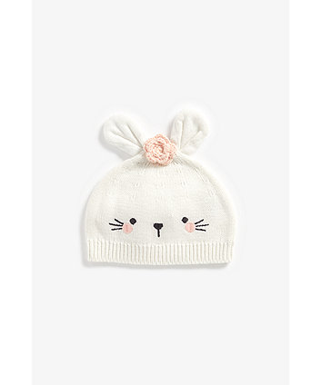 Mothercare Novelty Bunny Knitted Hat